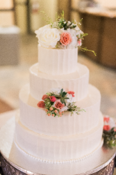 A Wedding Tradition Cake Flowers