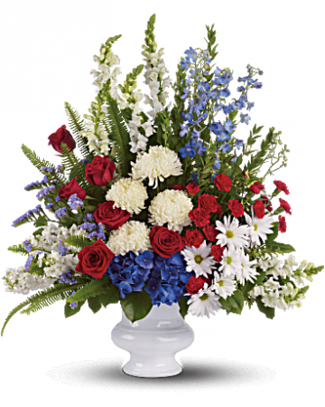 a With Distinction Sympathy Flowers