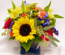 A Wonderful Summer Day        FHF-22 Vase Arrangement