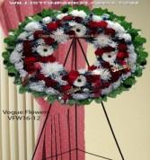 A Wreath Of Honor Funeral Sympathy Wreaths