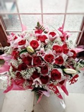All My Love Red Rose Bouquet