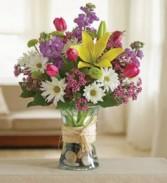 Gathering Spring Vase Arrangement
