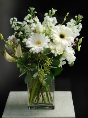 Simply White EN-8 in Teaneck, NJ | ENCKE FLOWERS