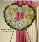 Forever In Our Hearts Funeral Sympathy Hearts