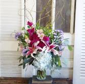 The Delilah Bouquet Vase Arrangement