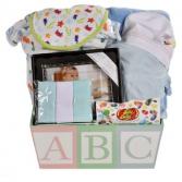 ABC Baby Boy  Giftbasket