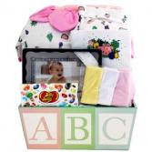 ABC Baby Girl Giftbasket