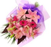 MIX PINK  FLOWERS          GIFT WRAP