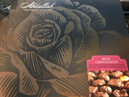 Abdallah Gourmet Milk Chocolates 15oz