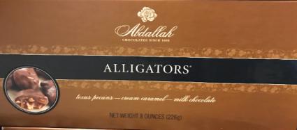 Abdallah Gourmet Milk Chocolates Alligators 8oz