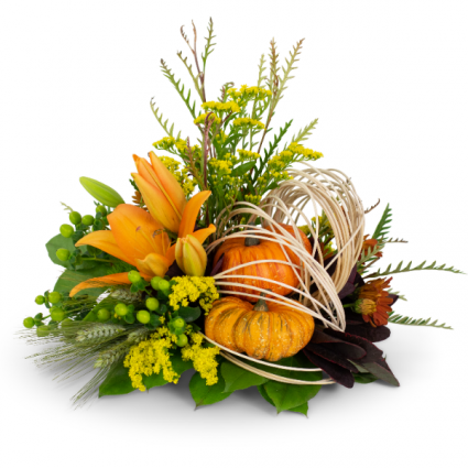 Abstract Cornucopia Arrangement