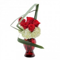 Abstract Love Fresh Flower Arrangement
