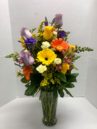 Abundance of Beauty Vased Arrangement
