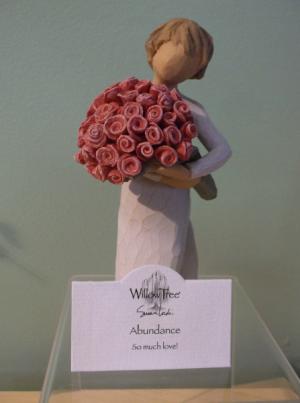 """ABUNDANCE"" WILLOW TREE FIGURINE  in Springfield, VT | WOODBURY FLORIST"