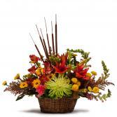 Abundant Basket Arrangement
