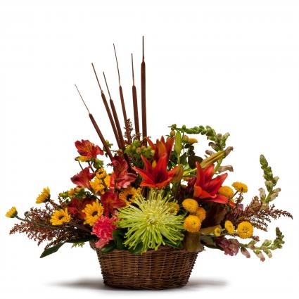 Abundant Basket Fall Arrangement