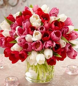 Abundant Elegance Tulips  Bouquet