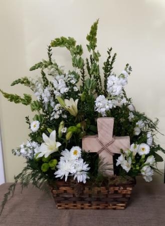 Abundant faith sympathy basket