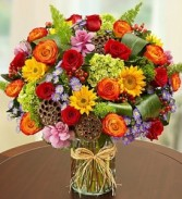 Abundant Fall Vase Vase