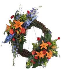 Abundant Life Sympathy Wreath