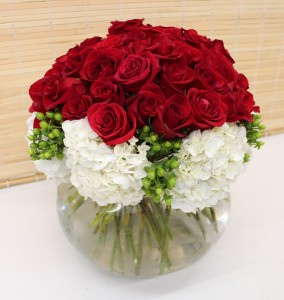 Abundant Roses & Hydrangeas
