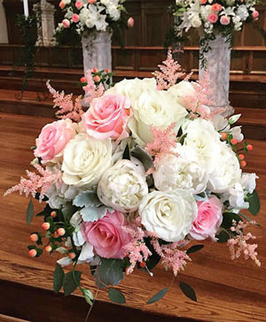 Accented Pinks Bouquet in Ozone Park, NY | Heavenly Florist
