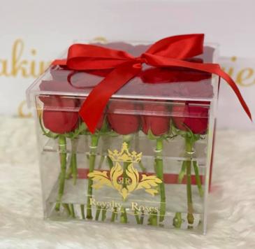 Acrylic Box Roses Acrylic Box