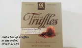Add a Box of Truffles to any order gift
