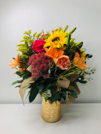 Add A Little Sunshine Flower Arrangement