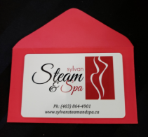 Add a Spa Gift Certificate with Flowers! Sylvan Steam & Spa