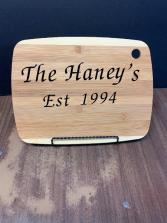 Add On A Personalized Cutting  Board Personalized Cutting Board