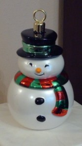 Add on Snowman Cookie Jar 2590 (Houston only) Christmas