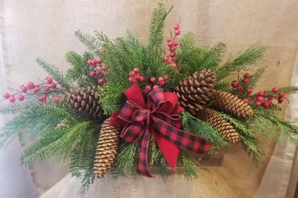 Adirondack Christmas Centerpiece