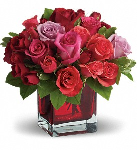 Madly in Love Bouquet with Red Roses floral arrangement