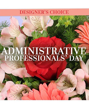 Admin Professional's Custom Arrangement in Hooker, OK | LINDA'S FLOWERS & GIFTS/ Downtown Hooker