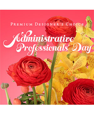 Admin Professionals' Day Floral Premium Designer's Choice in Universal City, TX | Karen's House Of Flowers & Custom Creations