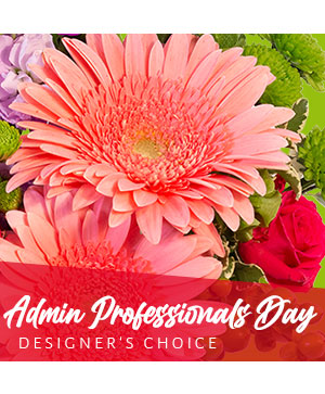 Admin Professional's Flowers Designer's Choice in Manteo, NC | COASTAL BLOOMS FLORIST