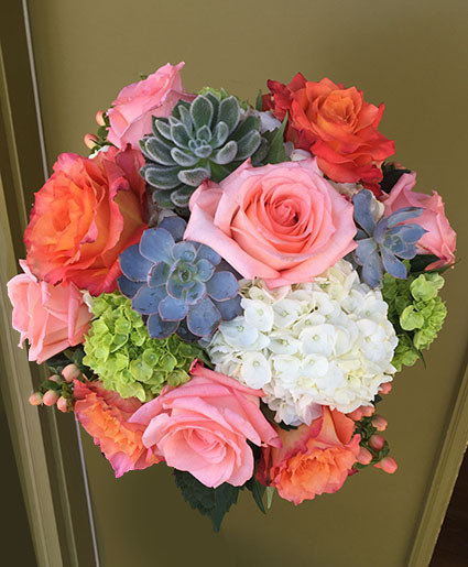 Adorable Aesthetic Bouquet with Succulents