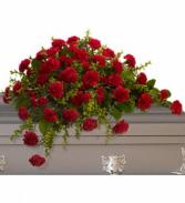 Adoration - 242 casket spray