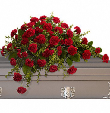 Adoration  Casket Flowers