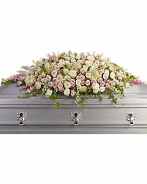 Adored Casket Spray Casket Flowers