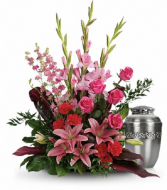 Adoring Heart Cremation Tribute PFD273-9A