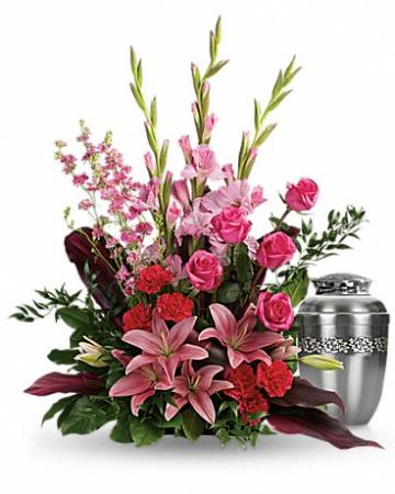 Adoring Heart Cremation Urn