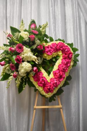 Adoring Heart Farewell Standing Open Heart