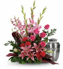 Adoring Heart           T273-9 Funeral Arrangement