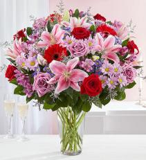 Adoring Love Bouquet Vase Arrangement