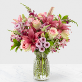 Adoring You Mom Bouquet Vase Arrangement