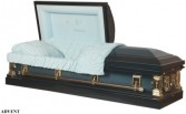 ADVENT CASKET 18 Gauge; Blue Blended Dark Blue; Blue Crepe