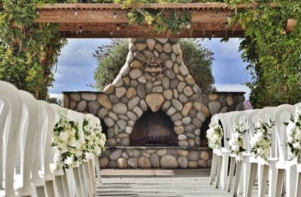 Aeronautical Inspiration (6) Wedding Chair Flowers