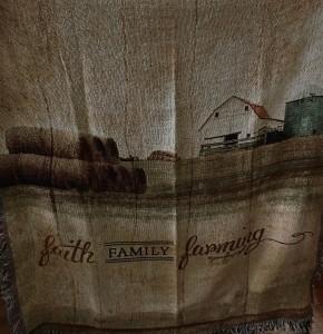 Faith, Family & Farming Afghan